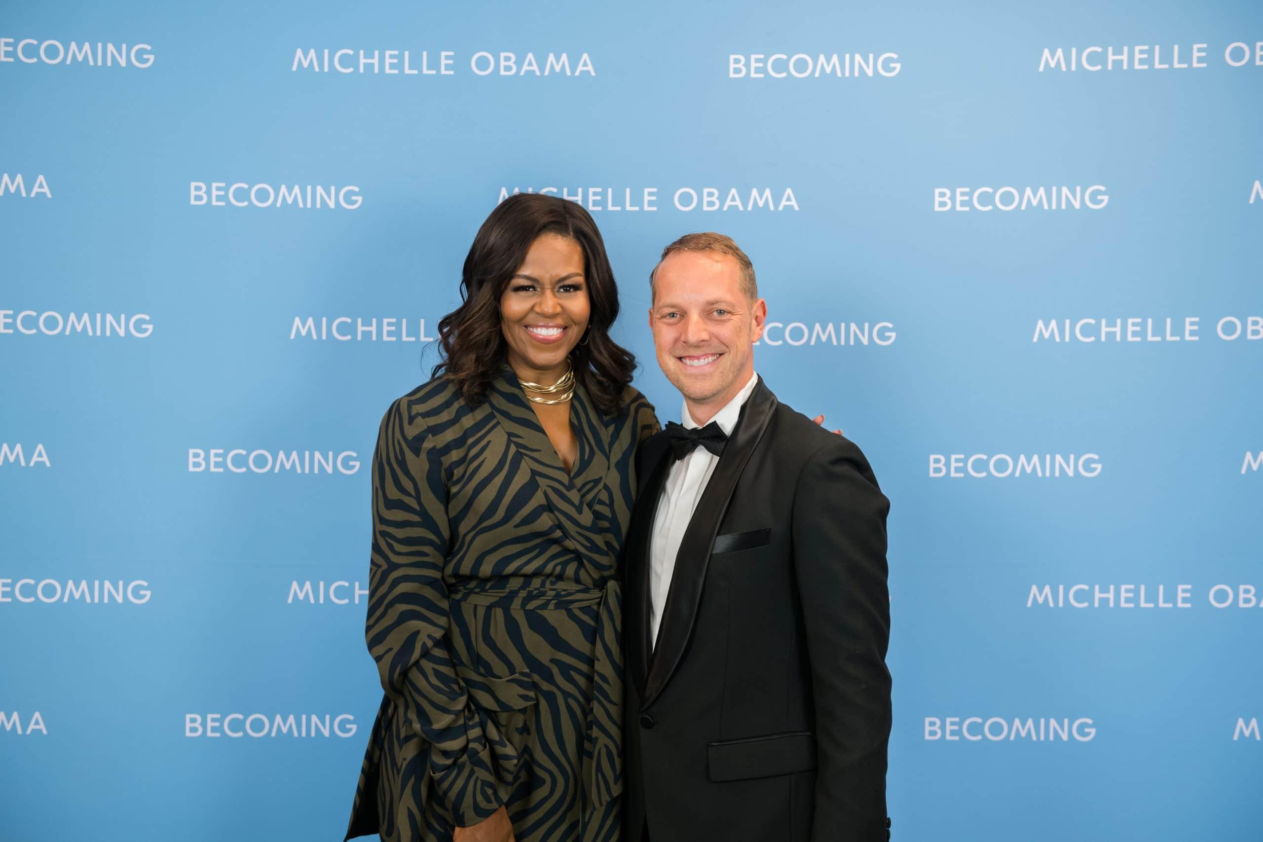 Mindset Coach und Keynote Speaker Norman Gräter Michelle Obama