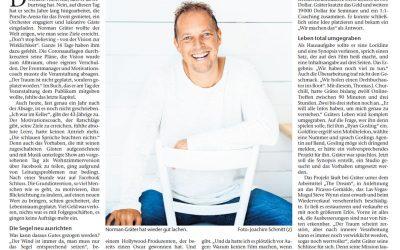 """""""Aus dem Keller nach Hollywood"""" Cannstatter Zeitung"""