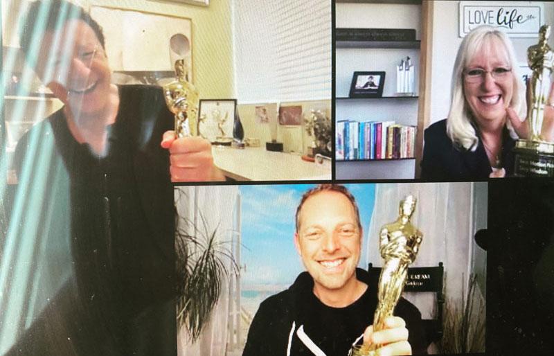 Oscars für Peggy Phil und Norman Gräter